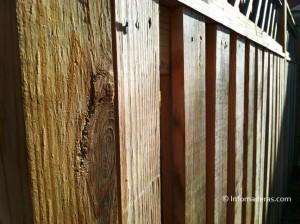 Cercas de madera que duran y decoran