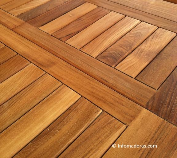 Cuidados sobre la madera teca for Muebles madera teca