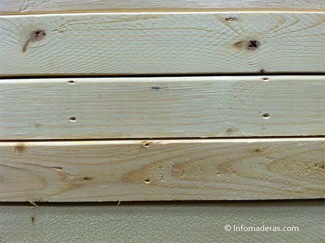 Madera sin tratar materiales de construcci n para la - Como tratar la madera ...