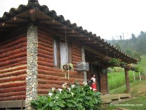 Cómo cuidar el exterior de una cabaña de troncos.