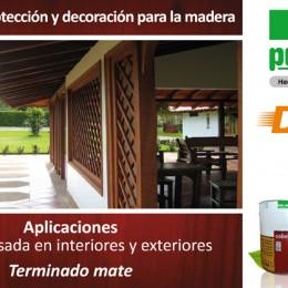 Color plus – Protección y decoración para la madera