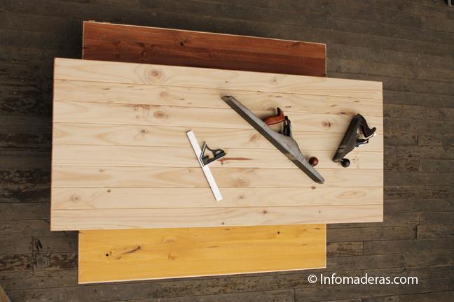Unir maderas sin clavos