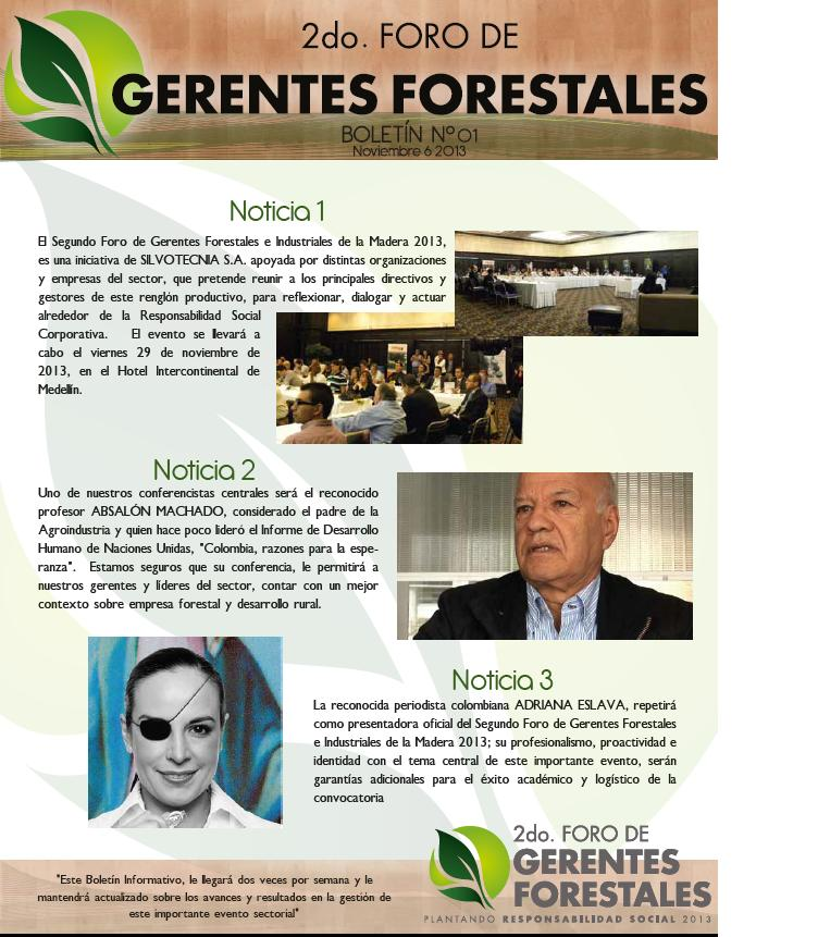 2do Foro de Gerentes Forestales