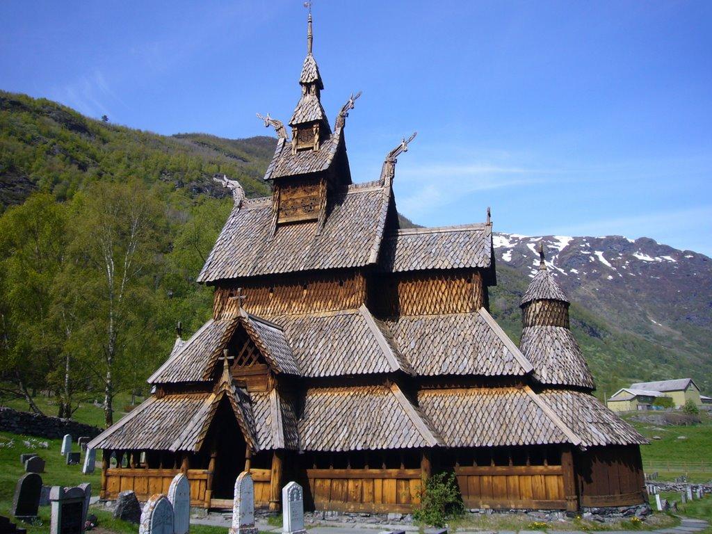 La madera en construcciones medievales