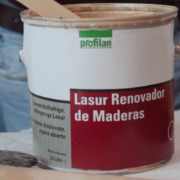 Restaure sus maderas viejas con el renovador de Profilan