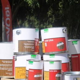 Profilan presente en la muestra comercial de Durespo S.A en el municipio de la Ceja, Antioquia