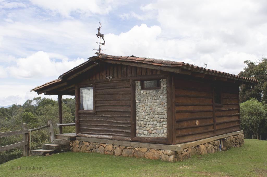 Proteja y embellezca su casa en madera - Casas de madera de pino ...