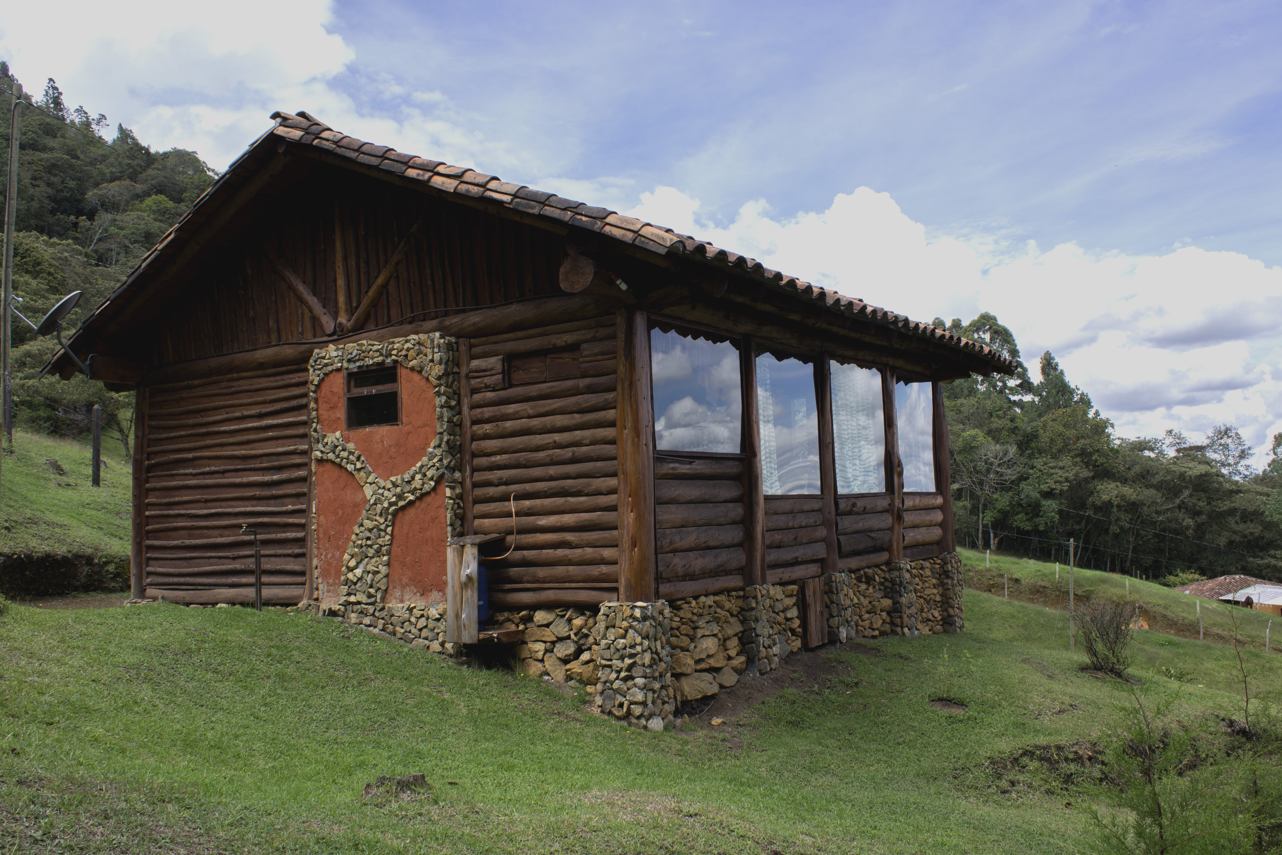 Proteja y embellezca su casa en madera - Casaa de madera ...