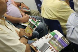 Profilan invita a una charla a la Asociación de viejos carpinteros