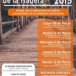Semana de la madera en Durespo 2015